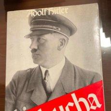 Libros de segunda mano: MI LUCHA, ADOLF HITLER, 7 EDICION. Lote 243789425