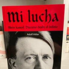 Libros de segunda mano: MI LUCHA (ADOLF HITLER). Lote 243858355