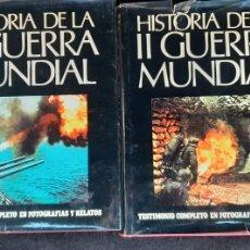 Libros de segunda mano: HISTORIA DE LA II GUERRA MUNDIAL 2 TOMOS (COMPLETO) (ABRAHAM ROTTBERG) - CARROGGIO. Lote 244200350