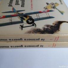 Libros de segunda mano: LA PRIMERA GUERRA MUNDIAL CARROGGIO TOMOS I II . . . HISTORIA MILITAR. Lote 244381915