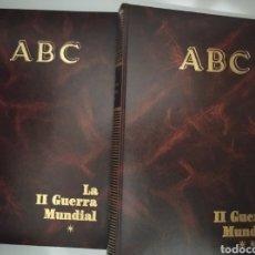 Libros de segunda mano: LA SEGUNDA GUERRA MUNDIAL- DIARIO ABC (2 TOMOS). Lote 244420000