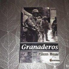 Libros de segunda mano: GRANADEROS. KURT PANZER MEYER. EDICIONES PLATEA. Lote 244819965