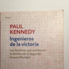 Libros de segunda mano: INGENIEROS DE LA VICTORIA. Lote 244852525