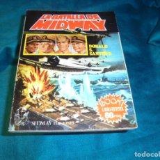 Libros de segunda mano: LA BATALLA DE MIDWAY. DONALD S. SANFORD. LIBRO-REVISTA. SEDMAY EDC. 1ª EDC. 1976. Lote 244894690