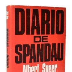 Libros de segunda mano: DIARIO DE SPANDAU - ALBERT SPEER. Lote 244957400