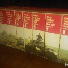 Libros de segunda mano: DIARIOS DE GUERRA DEL OKW, EL ALTO MANDO DEL EJÉRCITO NAZI (EN ALEMÁN).. Lote 245275075