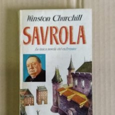 Libros de segunda mano: SVROLA, CURCHILL, EDITORIAL PLAZA 1956 PRIMERA EDICION. Lote 245477835