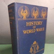 Libros de segunda mano: HISTORY OF WORLD WAR II 2 ARMED SERVICES MEMORIAL EDITION 1945. Lote 246971410