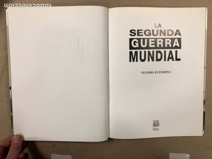 Libros de segunda mano: LA SEGUNDA GUERRA MUNDIAL. GERALD SIMONS. EDICIONES FOLIO - TIME LIFE 1995. 10 TOMOS. - Foto 12 - 248080820