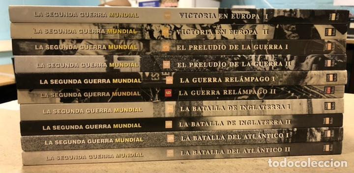 LA SEGUNDA GUERRA MUNDIAL. GERALD SIMONS. EDICIONES FOLIO - TIME LIFE 1995. 10 TOMOS. (Libros de Segunda Mano - Historia - Segunda Guerra Mundial)