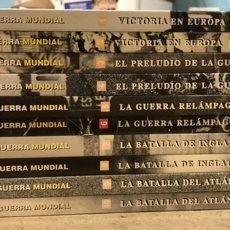 Libros de segunda mano: LA SEGUNDA GUERRA MUNDIAL. GERALD SIMONS. EDICIONES FOLIO - TIME LIFE 1995. 10 TOMOS.. Lote 248080820