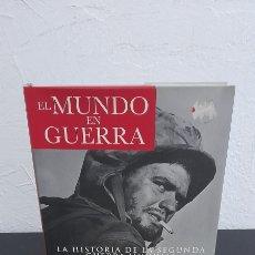 Libros de segunda mano: EL MUNDO EN GUERRA - LA HISTORIA DE LA SEGUNDA GUERRA MUNDIAL & ATLAS ILUSTRADO DE VEHICULOS BLINDAD. Lote 248641795