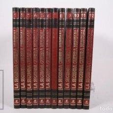 Libros de segunda mano: COLECCIÓN COMPLETA - LA SEGUNDA GUERRA MUNDIAL 12 TOMOS - BIBLIOTECA ALCAR - ED. SARPE - AÑO 1982. Lote 248743095