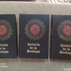 Libros de segunda mano: LA HISTORIA DE LA GESTAPO I-II-III. Lote 249385465