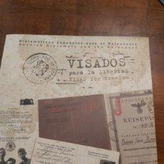 Libros de segunda mano: VISADOS PARA LA LIBERTAD MUY ESCASO EN TODOCOLECCION. Lote 254058205