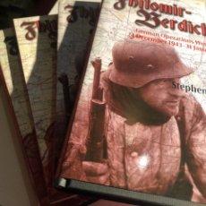 Libros de segunda mano: ZHITOMIR-BERDICHEV: GERMAN OPERATIONS WEST OF KIEV 24 DECEMBER 1943–31 JANUARY 1944: VOLUME 1 Y 2. Lote 254114095