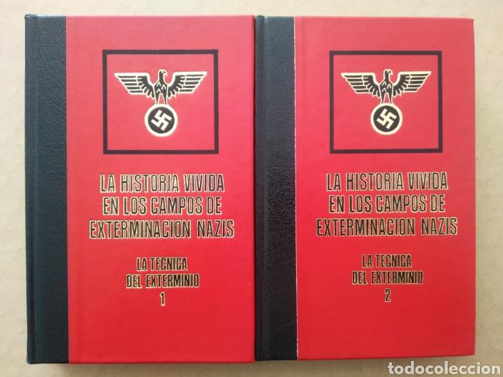 LA HISTORIA VIVIDA EN LOS CAMPOS DE EXTERMINACIÓN NAZIS: LA TÉCNICA DEL EXTERMINIO 1-2 (S. REINER). (Libros de Segunda Mano - Historia - Segunda Guerra Mundial)