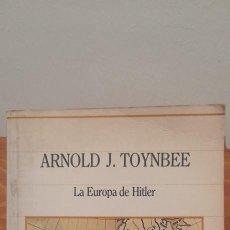 Libros de segunda mano: LA EUROPA DE HITLER. Lote 254594755