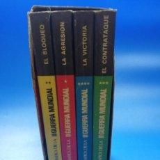 Libros de segunda mano: HISTORIA GRAFICA DE LA II GUERRA MUNDIAL. 4 VOLUMENES. 1967. PAGS. 211/217/219/218.. Lote 254907920