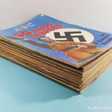 Libros de segunda mano: LOTE 98 FASCICULOS ABC LA II GUERRA MUNDIAL 50 AÑOS DESPUES (SOLO FALTAN 4), VER DESCRIPCION. Lote 254971985