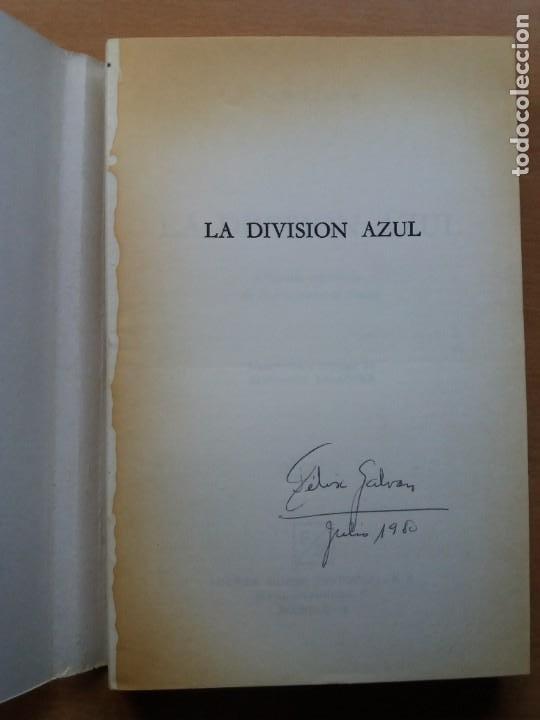 Libros de segunda mano: LA DIVISIÓN AZUL. SAINT LOUP - Foto 4 - 255969470