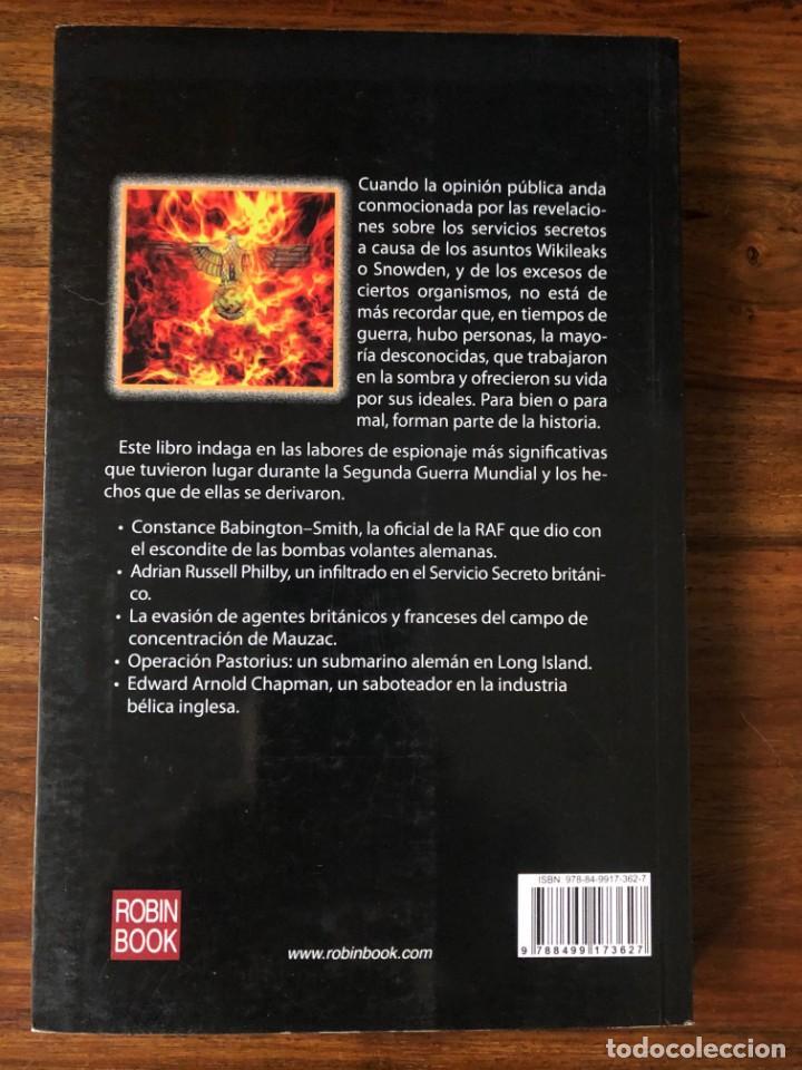 Libros de segunda mano: Espias y la guerra secreta. José Luis Caballero. Robin Book. Nazismo. - Foto 2 - 255980300