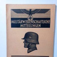 Livres d'occasion: ALEMANIA NAZI REVISTA MILITAR WEHRMACHT NSDAP ESVÁSTICA WWII. Lote 260387680