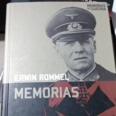 Libros de segunda mano: ERWIN ROMMEL MEMORIAS DE GUERRA SEGUNDA GUERRA MUNDIAL NAZI. Lote 261137305