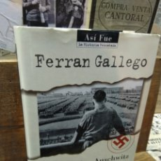 Libros de segunda mano: DE MUNICH A AUSCHWITZ. FERRAN GALLEGO. NAZISMO.. Lote 261270655