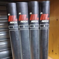 Libros de segunda mano: EL III REICH. HISTORIA TOTAL DE UNA EPOCA DECISIVA. 4 TOMOS. EDITORIAL NOGUER, 1974. Lote 262245110
