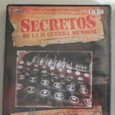 Libros de segunda mano: DVD EL CÓDIGO ENIGMA - PRECINTADO DOCUMENTAL SECRETOS DE LA II GUERRA MUNDIAL NAZIS ESPÍAS -NO LIBRO. Lote 262260770