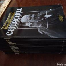 Libros de segunda mano: -LOTE 20 LIBROS COLECCION LOS GRANDES PROTAGONISTAS DE LA II GUERRA MUNDIAL - ORBIS 1985 HITLER. Lote 262289215