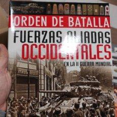 Libros de segunda mano: ORDEN DE BATALLA FUERZAS ALIADAS EN LA II GUERRA MUNDIAL, LIBSA EDITORIAL. Lote 262314795