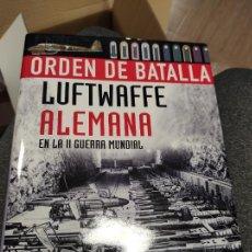 Libros de segunda mano: ORDEN DE BATALLA LUFTWAFFE ALEMANA EN LA II GUERRA MUNDIAL, LIBSA EDITORIAL. Lote 262315805
