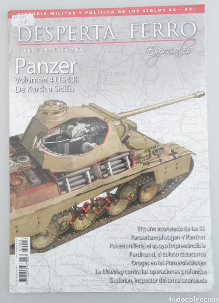 REVISTA DESPERTA FERRO N 24 - PANZER VOLUMEN 4 - DE KURSK A SICILIA (Libros de Segunda Mano - Historia - Segunda Guerra Mundial)