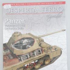 Libros de segunda mano: REVISTA DESPERTA FERRO N 24 - PANZER VOLUMEN 4 - DE KURSK A SICILIA. Lote 263095455