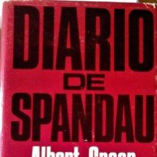 Livros em segunda mão: ALBERT SPEER - DIARIO DE SPANDAU. Lote 176204278