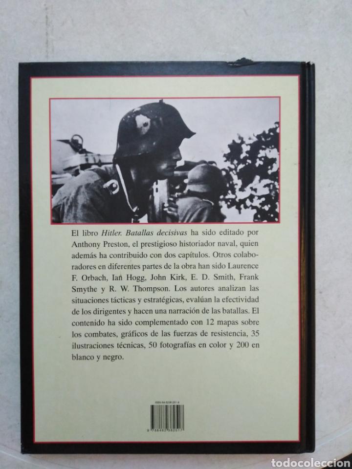 Libros de segunda mano: Hitler, batallas decisivas - Foto 3 - 264448749