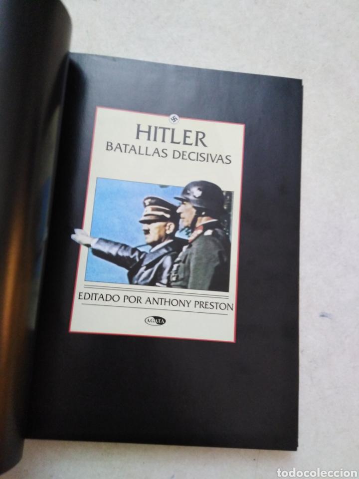 Libros de segunda mano: Hitler, batallas decisivas - Foto 4 - 264448749