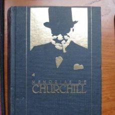 Libros de segunda mano: MEMORIAS DE LA SEGUNDA GUERRA MUNDIAL, NÚMERO 8. ÁFRICA REDIMIDA. WINSTON CHURCHILL. ORBIS, 1989.. Lote 265934828