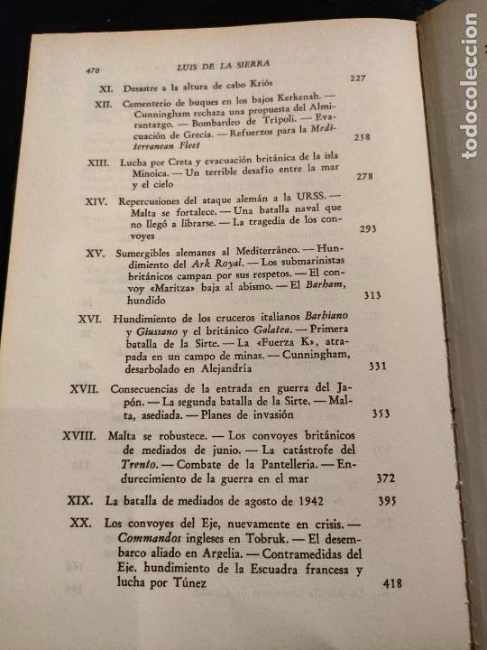 Libros de segunda mano: La guerra naval en el Mediterraneo (LUIS DE LA SIERRA) - Foto 4 - 267857209