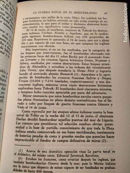 Libros de segunda mano: La guerra naval en el Mediterraneo (LUIS DE LA SIERRA) - Foto 5 - 267857209