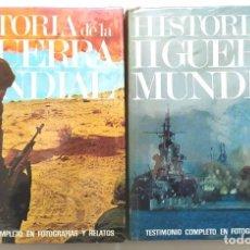 Libros de segunda mano: HISTORIA DE LA II GUERRA MUNDIAL. TESTIMONIO COMPLETO EN FOTOGRAFÍAS Y RELATOS. OBRA EN DOS TOMOS. Lote 269200013