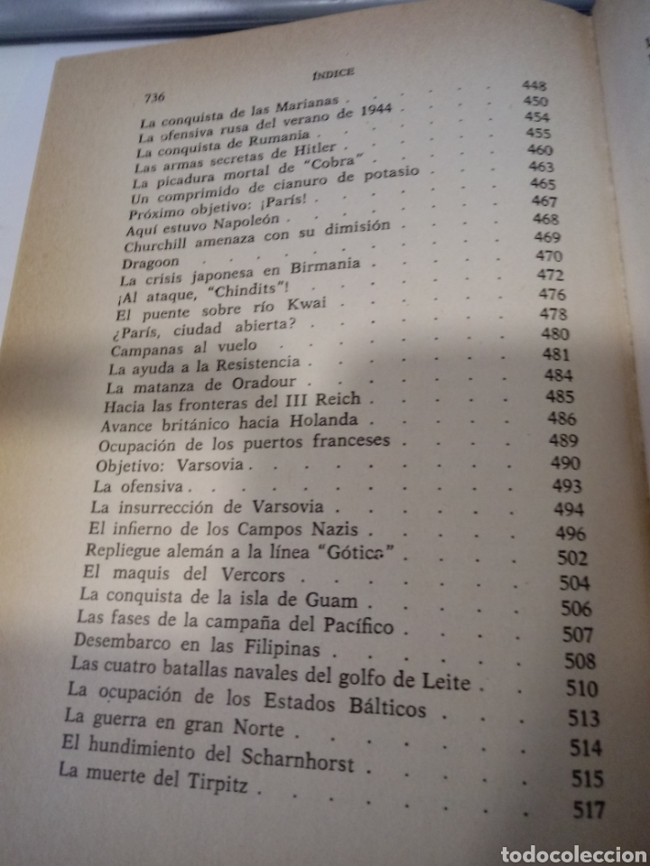 Libros de segunda mano: Historia de la Segunda Guerra Mundial, tomo II, por Karl von Vereiter - Foto 7 - 269479623
