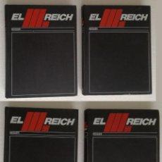 Livros em segunda mão: EL III REICH (TERCER): 4 TOMOS, COMPLETO - EDITORIAL NOGUER, AÑO 1974. Lote 272077348