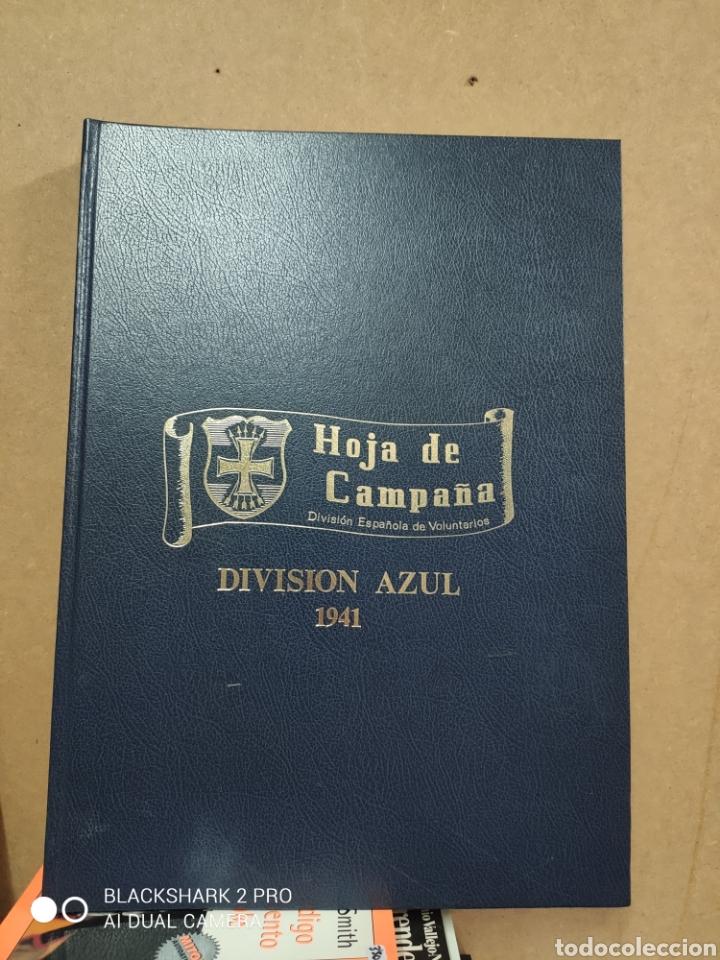 LIBRO GRAN FORMATO HOJA DE CAMPAÑA DIVISIÓN AZUL 1941 FACSÍMIL (Libros de Segunda Mano - Historia - Segunda Guerra Mundial)