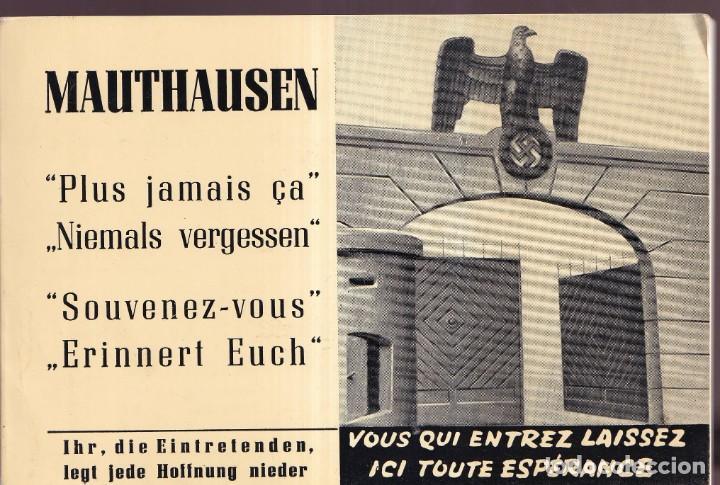 GUÍA DE CAMPO DE CONCENTRACIÓN MAUTHAUSEN CON LAS FOTOGRAFÍAS DE FRANCISCO BOIX (Libros de Segunda Mano - Historia - Segunda Guerra Mundial)