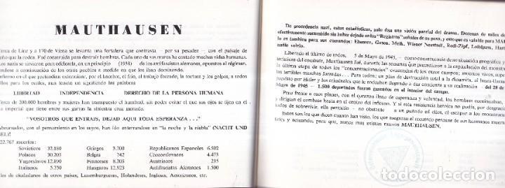 Libros de segunda mano: GUÍA DE CAMPO DE CONCENTRACIÓN MAUTHAUSEN CON LAS FOTOGRAFÍAS DE FRANCISCO BOIX - Foto 2 - 277692473
