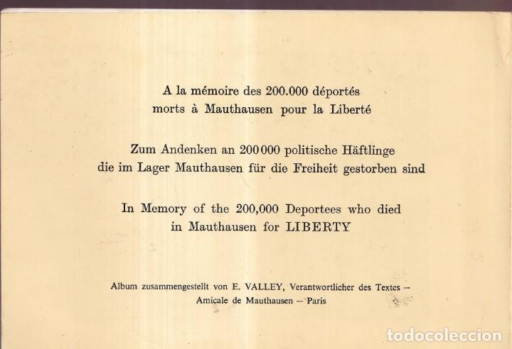 Libros de segunda mano: GUÍA DE CAMPO DE CONCENTRACIÓN MAUTHAUSEN CON LAS FOTOGRAFÍAS DE FRANCISCO BOIX - Foto 7 - 277692473