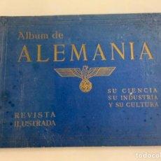 Libros de segunda mano: ALBUM DE ALEMANIA - SU CIENCIA SU INDUSTRIA Y SU CULTURA - REVISTA ILUSTRADA. Lote 277704643